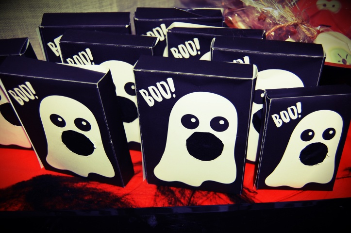 halloween cajas