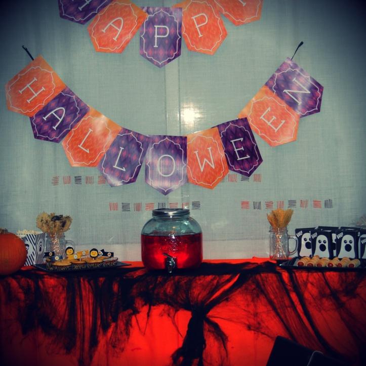 halloween mesa dulce